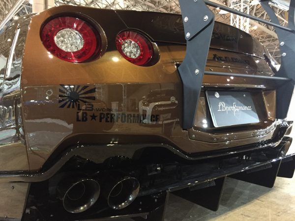 R35 GT-R 東京オートサロン2018 リバティウォーク 出張磨き