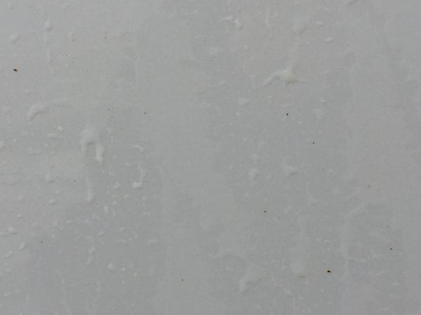 フェンダーに付いたピッチタールや鉄粉