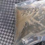 リンサーを使ったシート洗浄